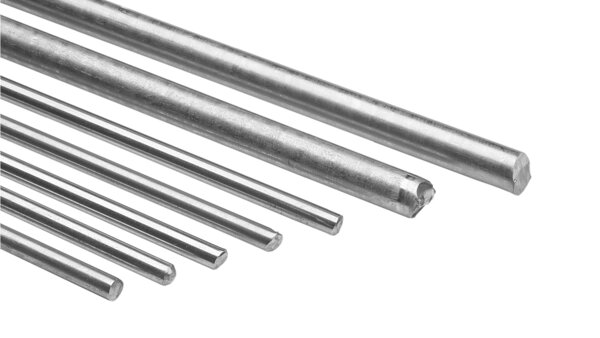 Rods made of NiFe and CoFe